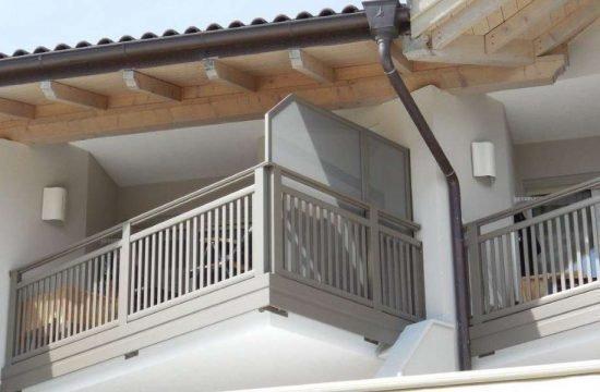 schöne Balkone in Südtirol