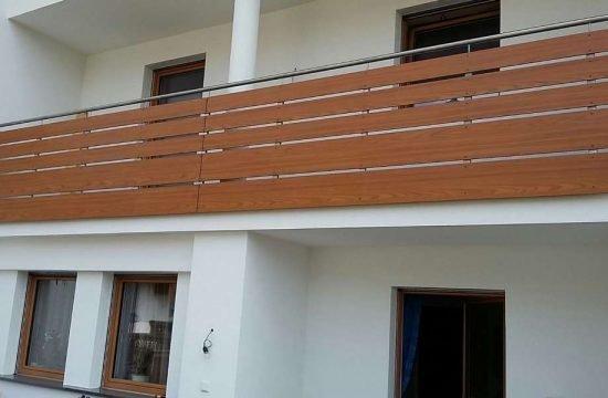 Balkone aus HPL