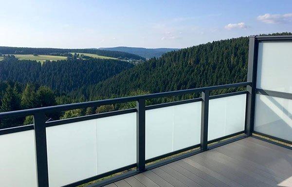 Balkone in Südtirol